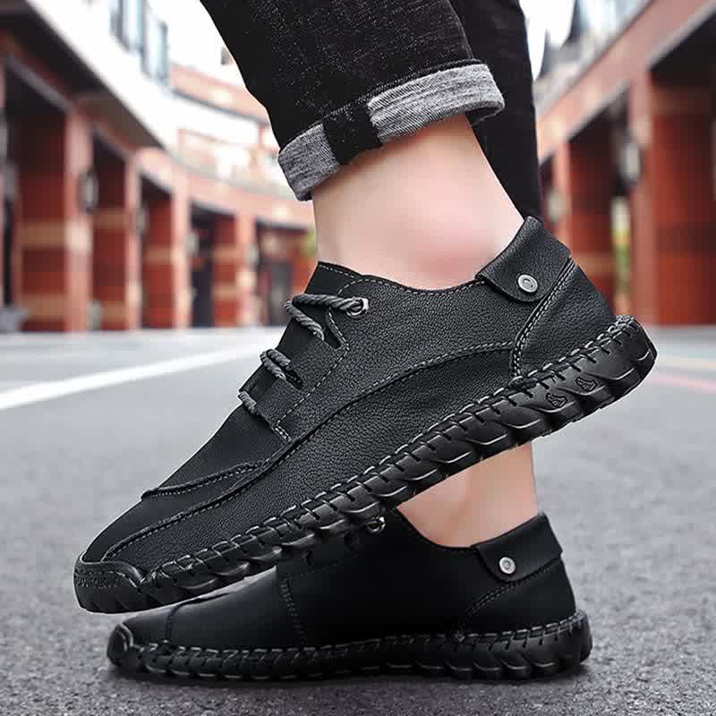 Handmade Men Loafers Fashion Breathable Man Shoes