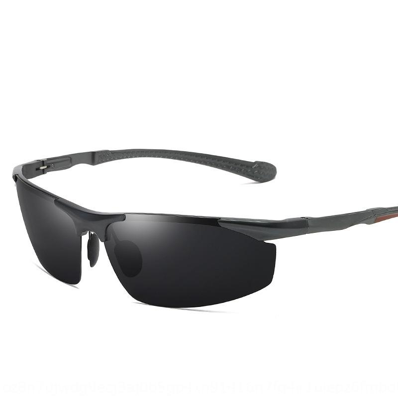 Aluminum Magnesium polarized sun for men and women driving fashionable sunglasses