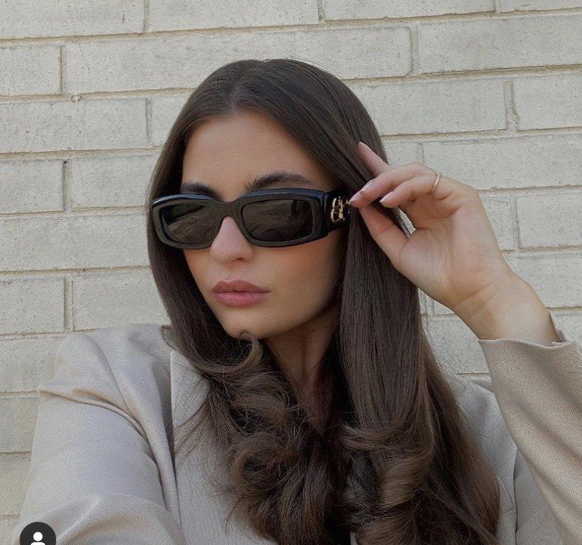 new classic square sunglasses are simple, ladies, men, sunglasses, star style.