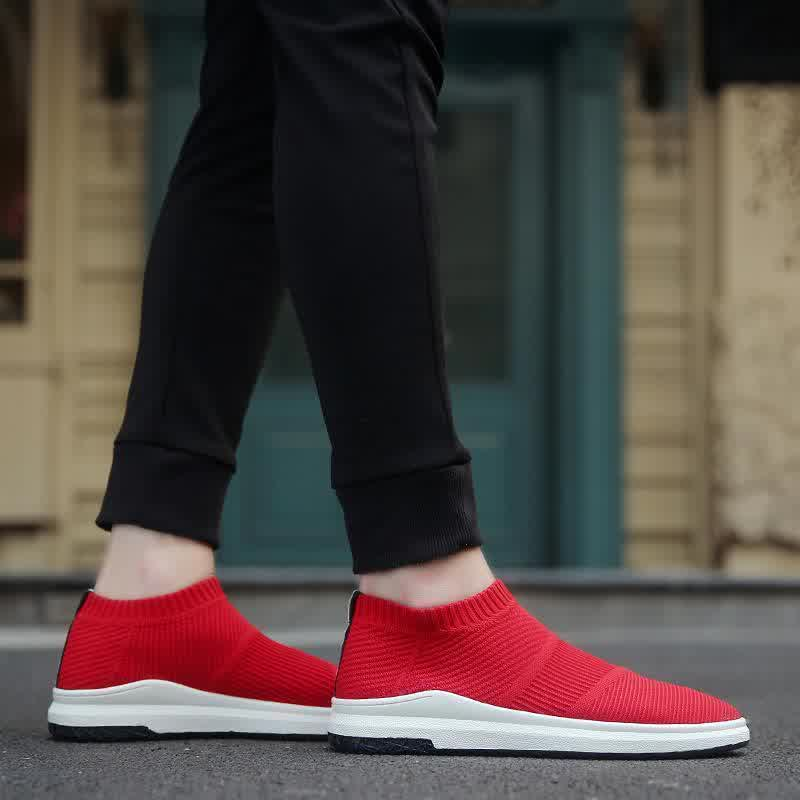 Men s Breathable Male Shoes Adult Mesh Tenis Casual Shoes