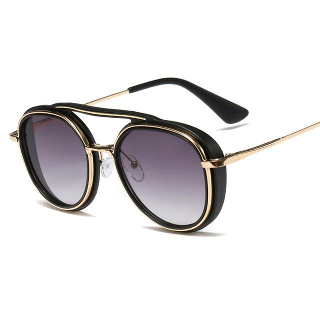 Fashion Women Round Sunglasses