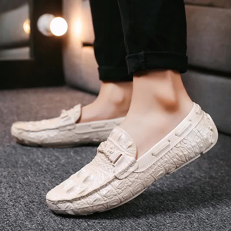 Men Casual  Loafers Moccasins Breathable Slip Shoes