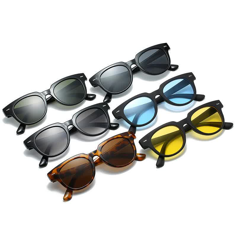 Classic Vintage Cat Eye Sunglasses Women/Men Sun G...