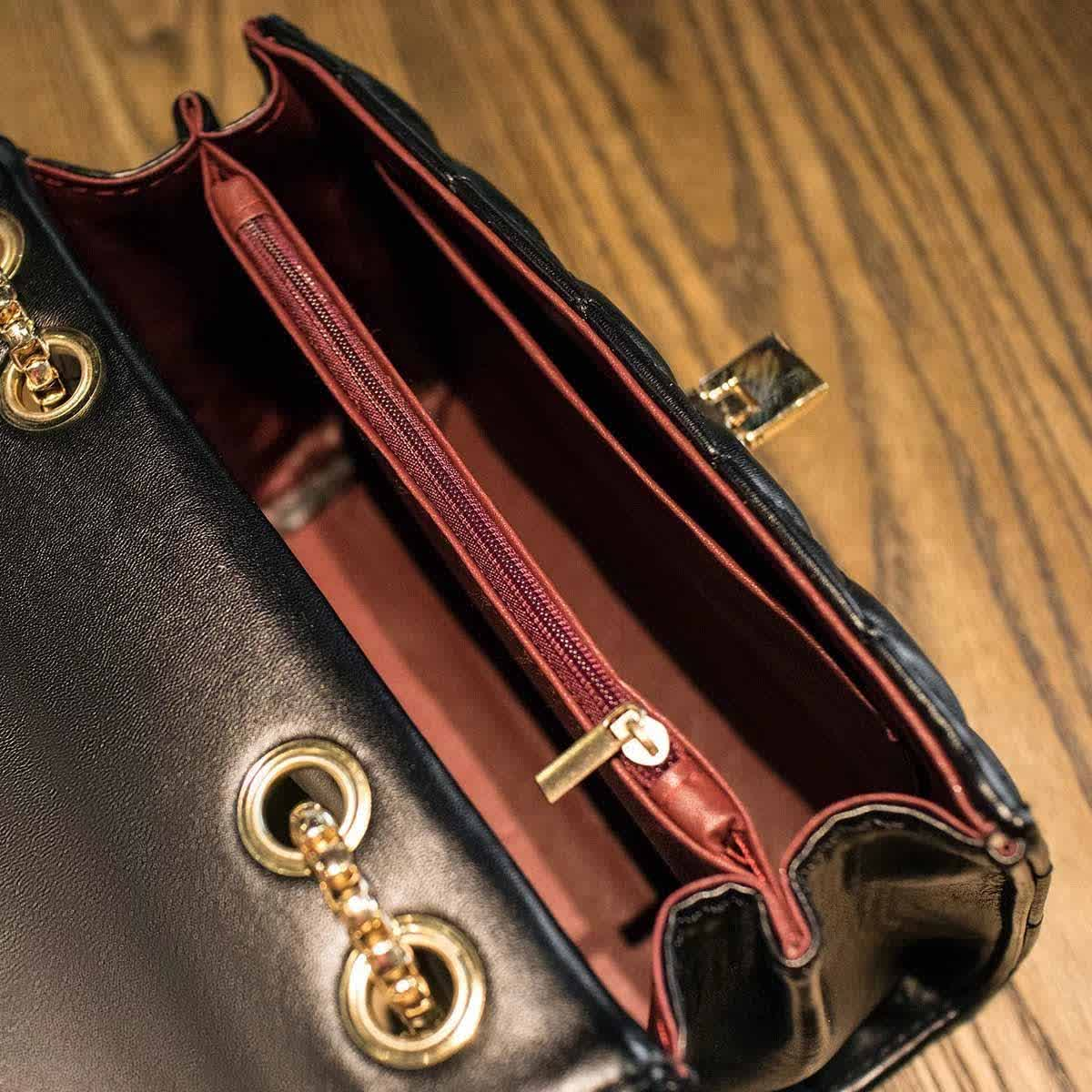 The latest three in one shoulder bag fashion woman handbag