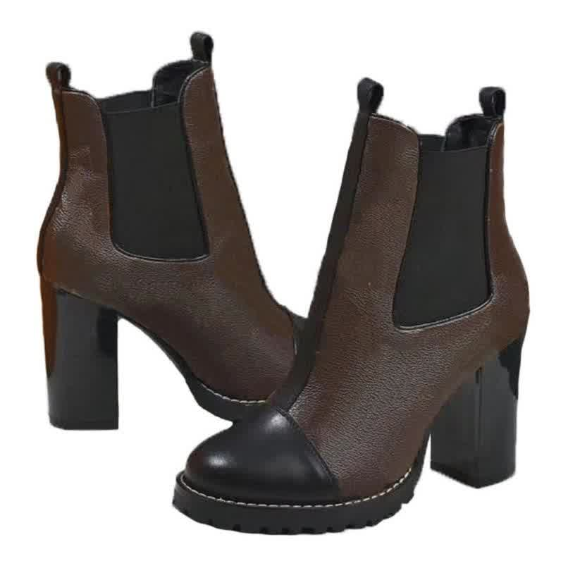 Fashion leather star women shoes autumn winter ankle Exquisite women boots
