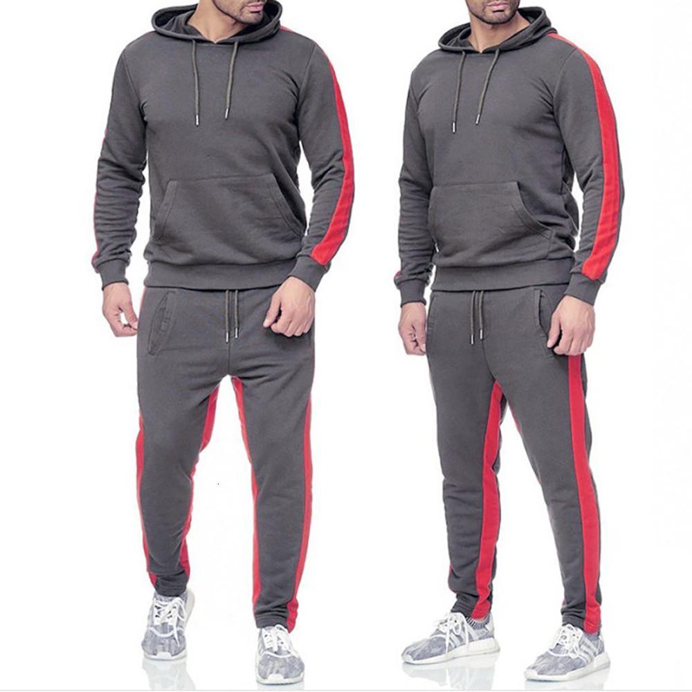 Men's Sets Diy Custom Text Image Hoodies Pant Casual Fashion Hoody Sweatshirts + Sweatpants Print Sweatsuit