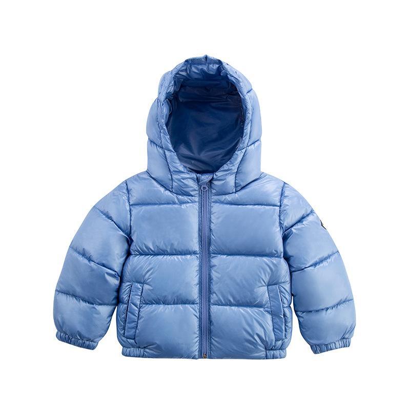 Winter Children Down Coats Girls Fashion  Boys Thicken Hooded Coats Warming Duck Down Outerwear Clothes