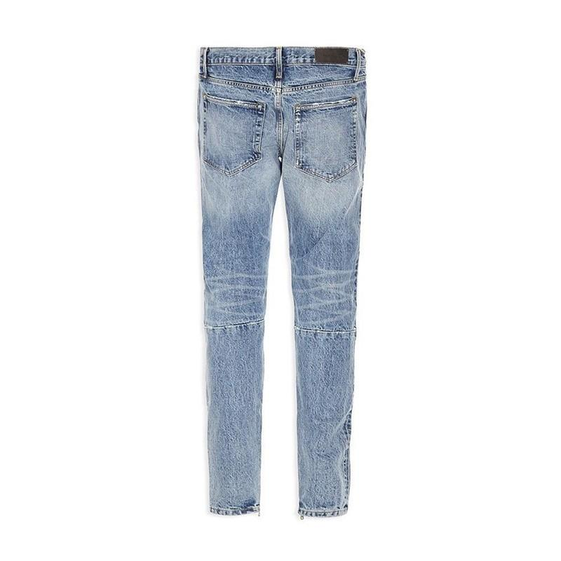 Denim Pants Ripped Jeans Print Men Jeans Fashion Skinny Pants Zipper Fly Trousers Letters Casual Jeans