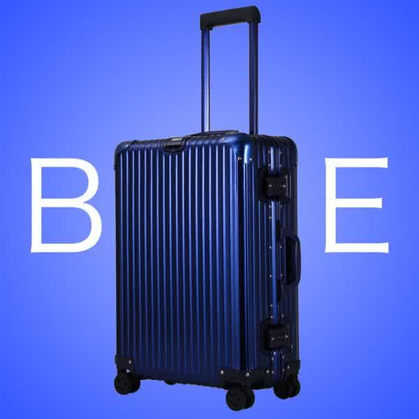 Bobs 20inch a high quality aluminum magnesium luggagy bag luggage spinner suitecase