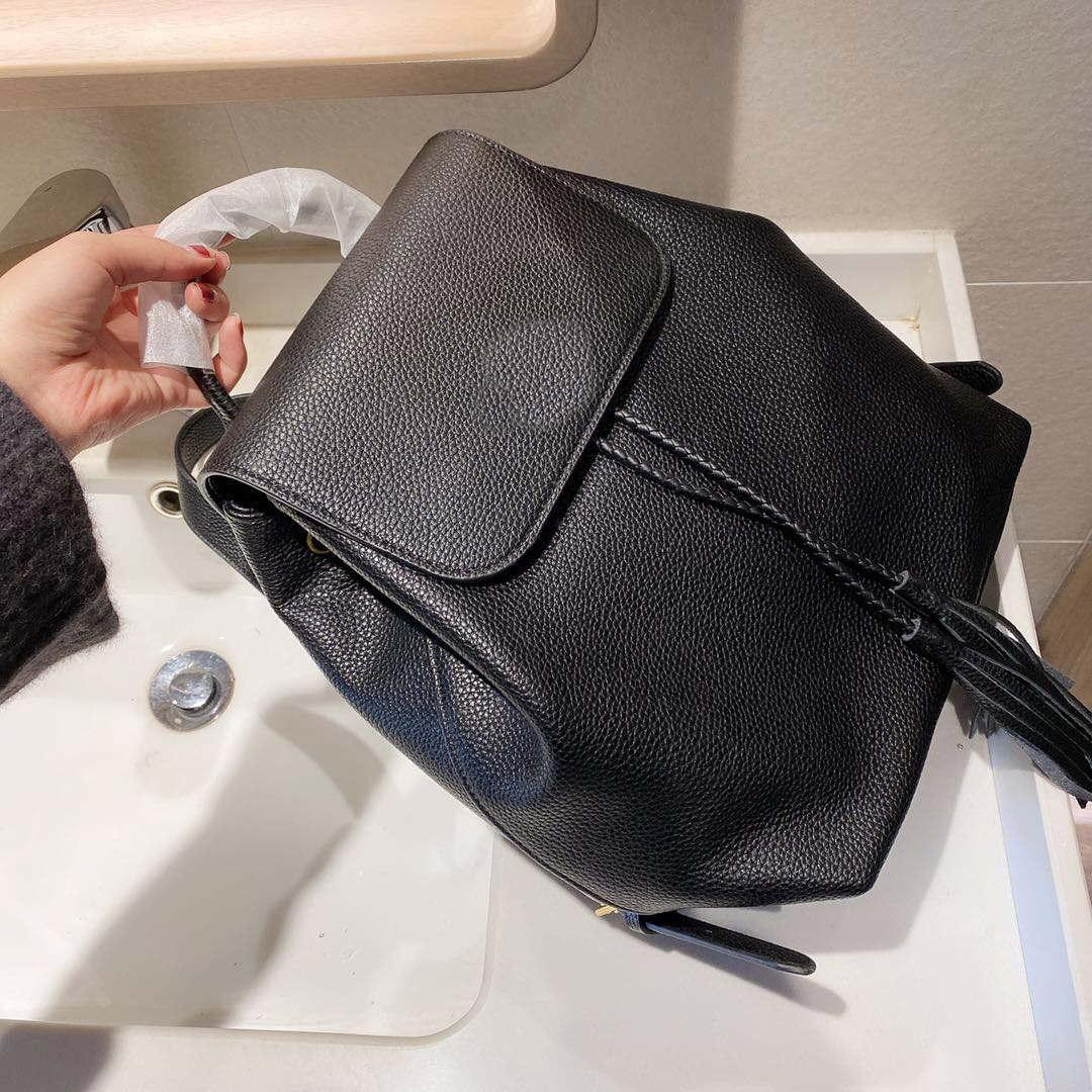 Classic fashion bag women's calf leather   backpack style bags luggage bags