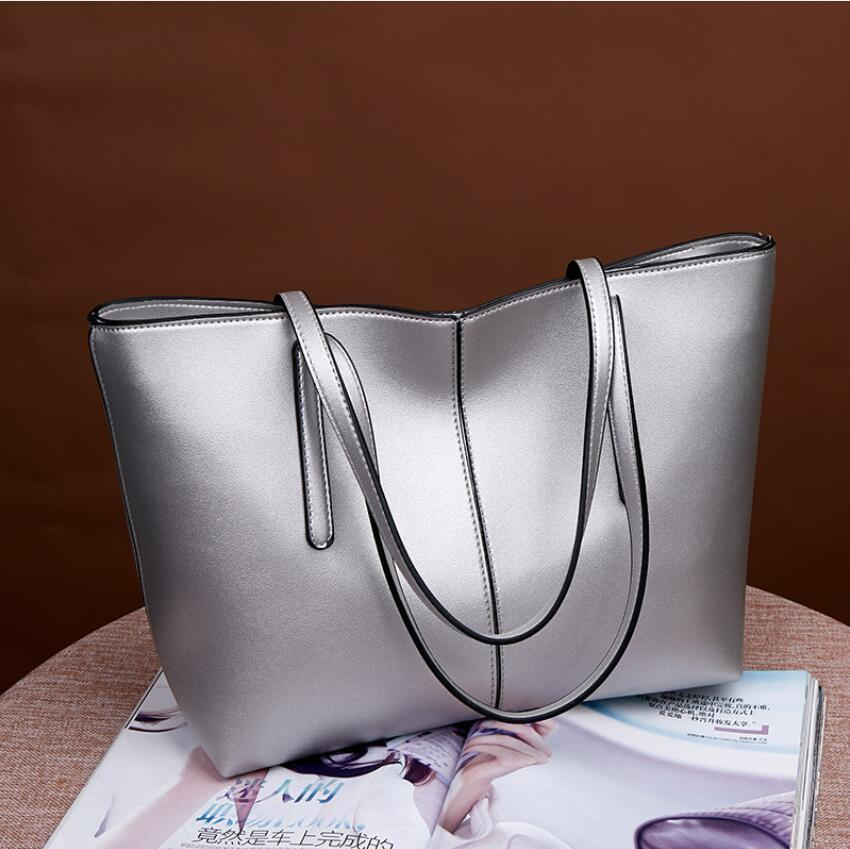New Bag Fashion Simple Versatile Large Capacity Handbags