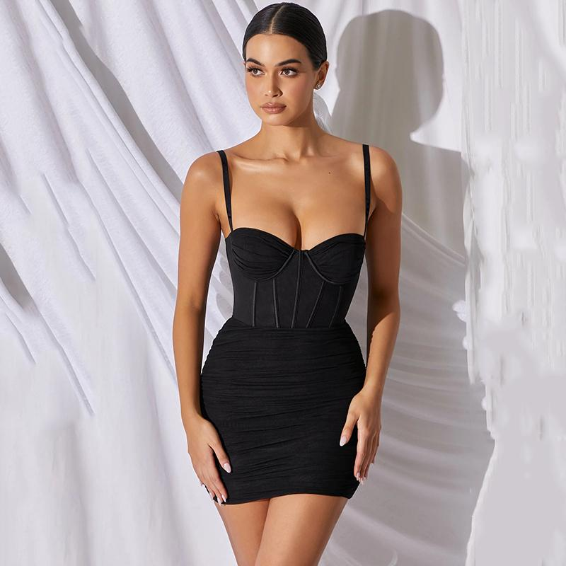 Summer Sexy Bangage Women Bodysuits Backless Hollow Out Long Sleeve Bodycon