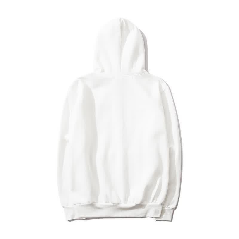 Men Trendy Hoodies Casual Pure Color Heart Pattern Hot Sale Ins Tiktok Japan Style Pullover Hooded Sweatshirts Men Clothing