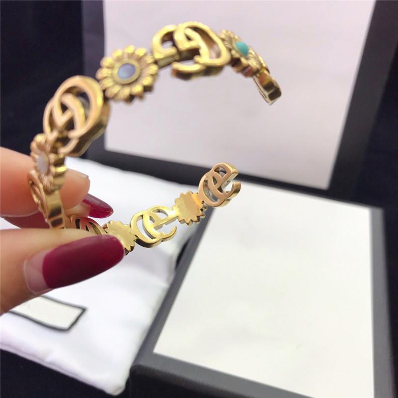 New Style Vintage Bracelet for Women Exquisite Workmanship Temperament Letter