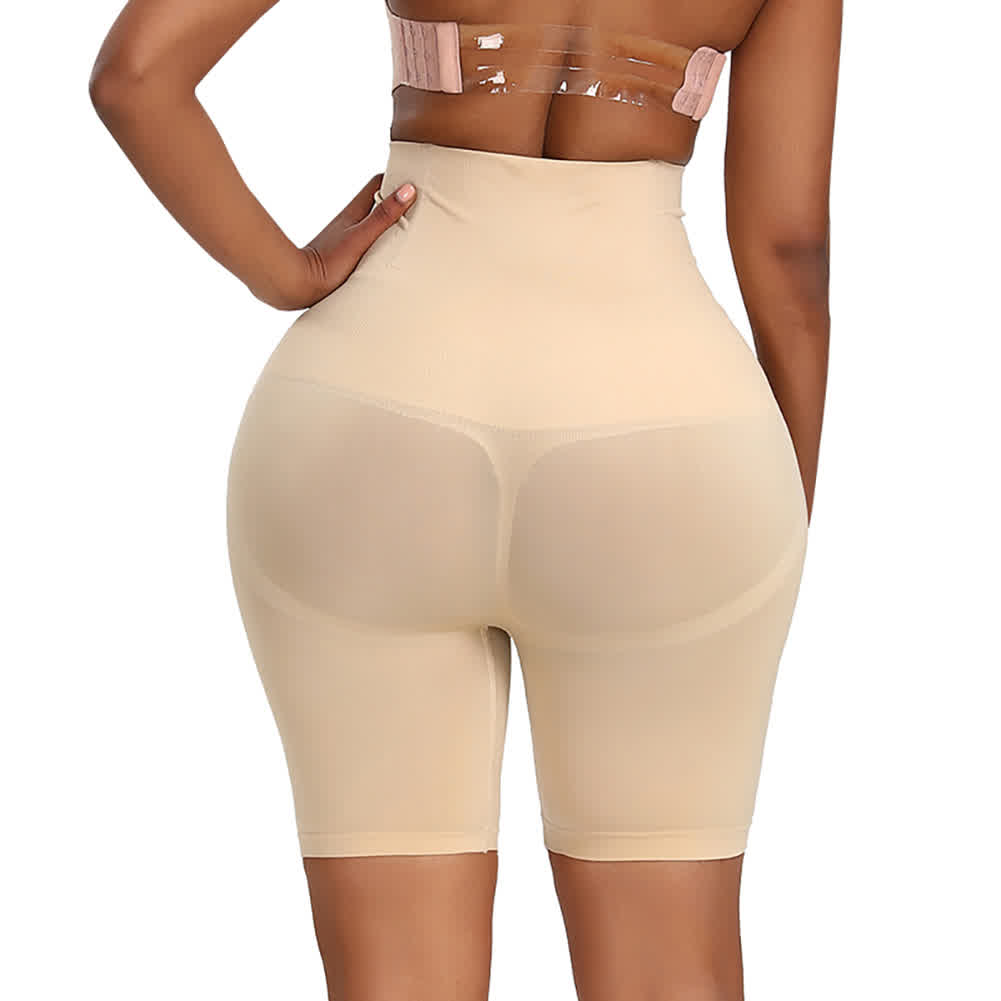 Women High Waist Body Shaper Underwear Hip-lifting Beauty Shapewear Underpants Skin