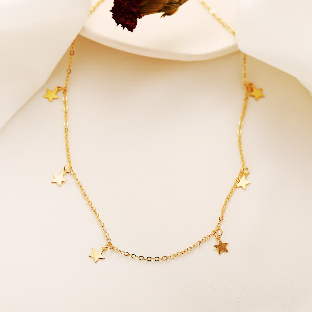 6 Pcs/set Jewelry Sets Alloy Pearl Earrings + Necklace + Hairpin