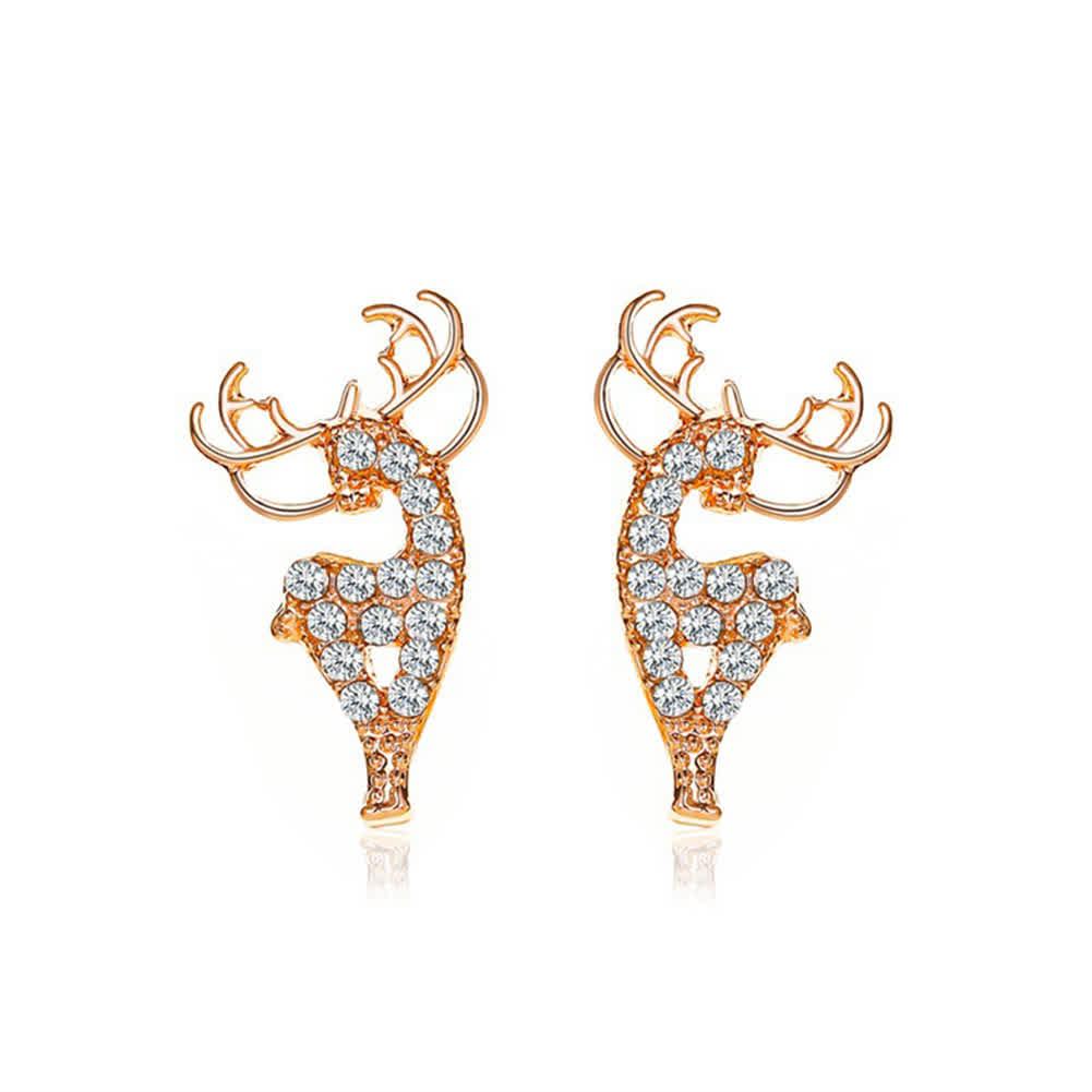 1  Pair of  Women's  Earrings  Alloy  Christmas De...