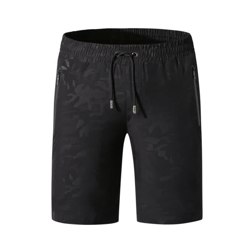 Men Casual Shorts Sports Fast Dry Beach Middle Waist Thin Breathable Shorts