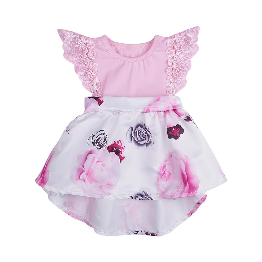 Baby Girl Pink Princess Dress