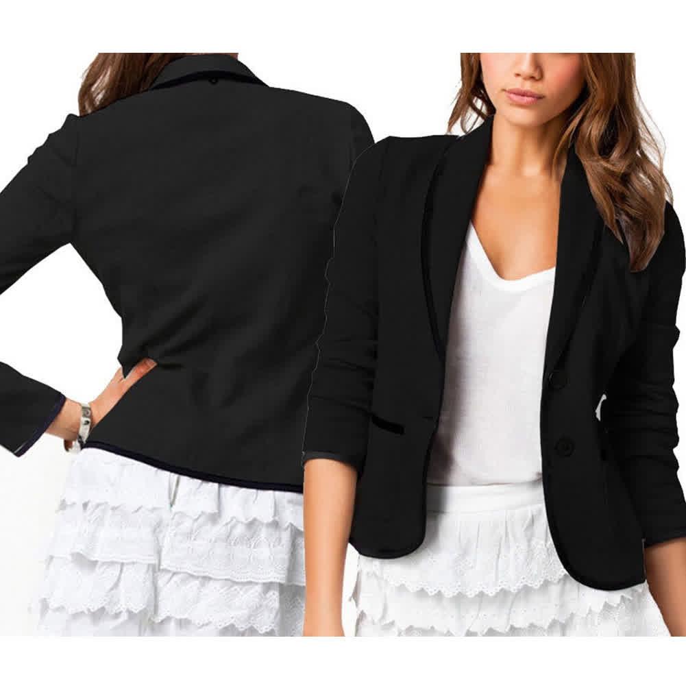 Women Slim Design Bussines Jacket