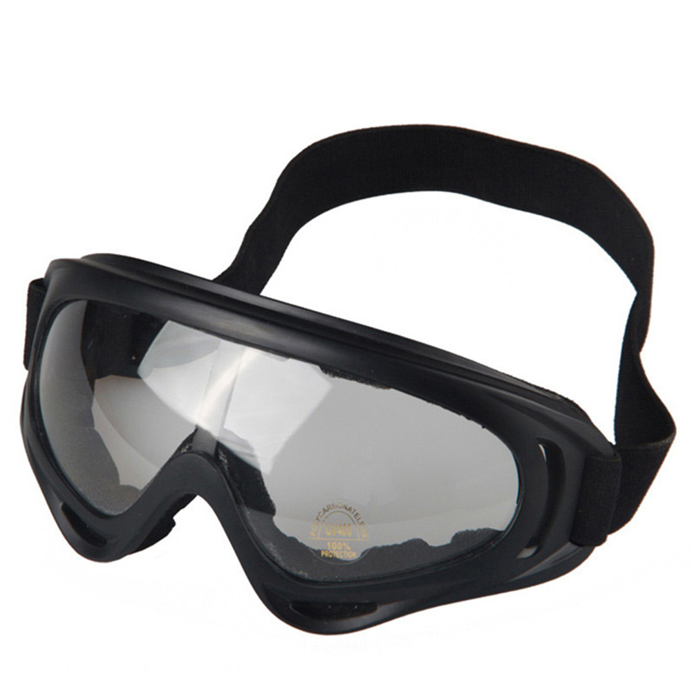 Adjustable UV Protective Outdoor Glasses Motorcycle Dust-Proof Protective Combat Goggles