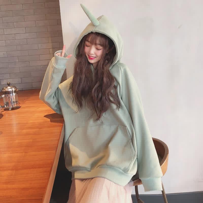 Women Cute Teletubby Design Sweatshirt
