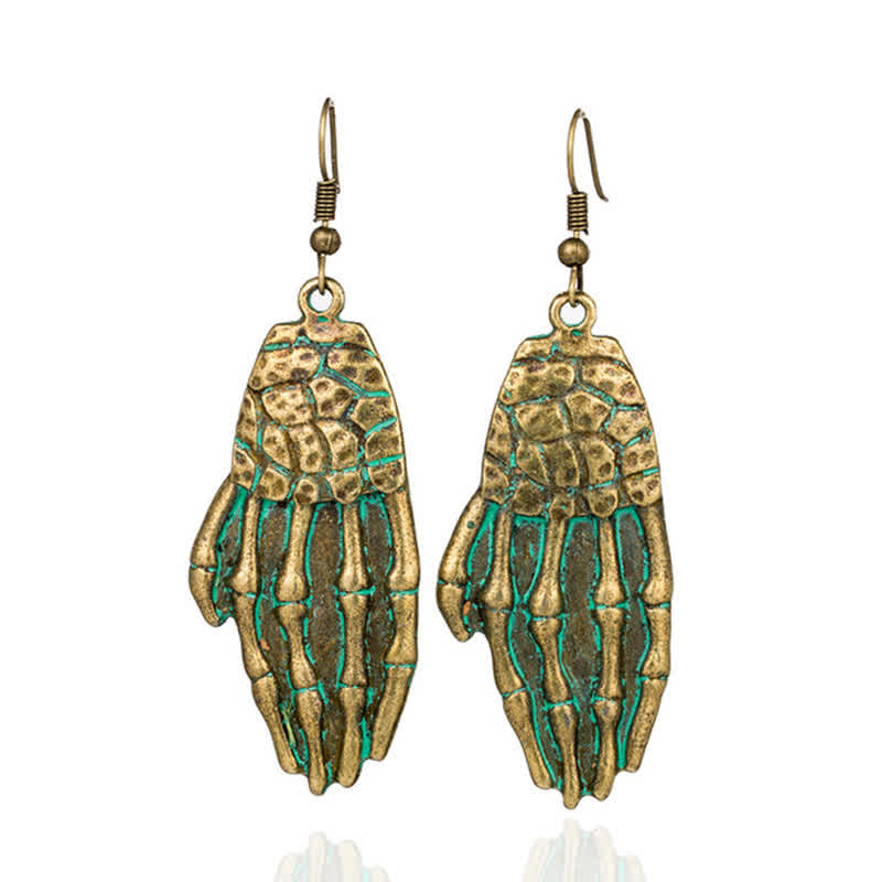 New Style Retro Alloy Earrings Women A Pair of Cre...
