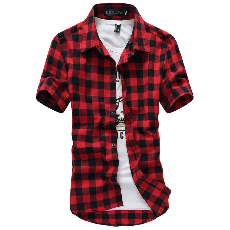 Men Fashion Summer Casual Shirt