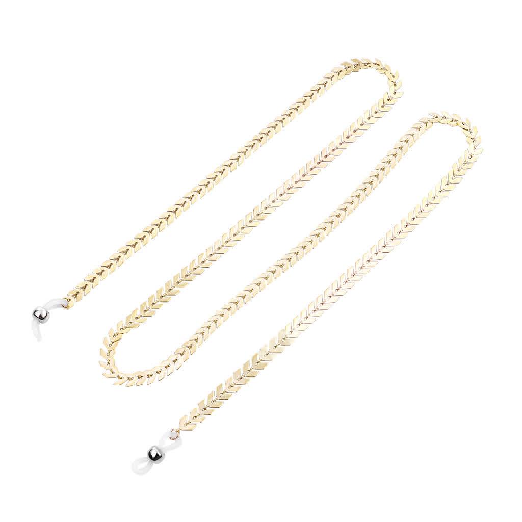 Classical Eyeglasses Chain Decoration Accessory Antiskid Eyeglasses Chain Gold