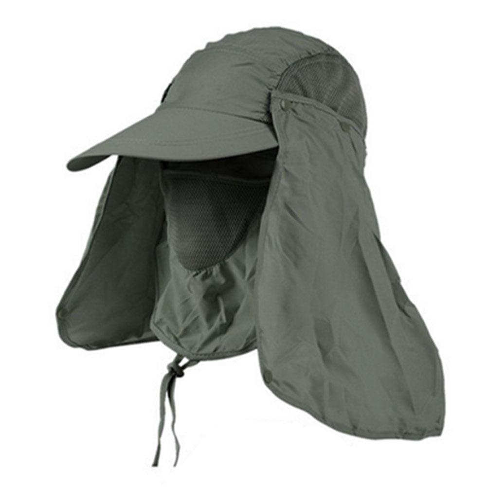 Adults Outdoor Sun Protection Fishing Hat