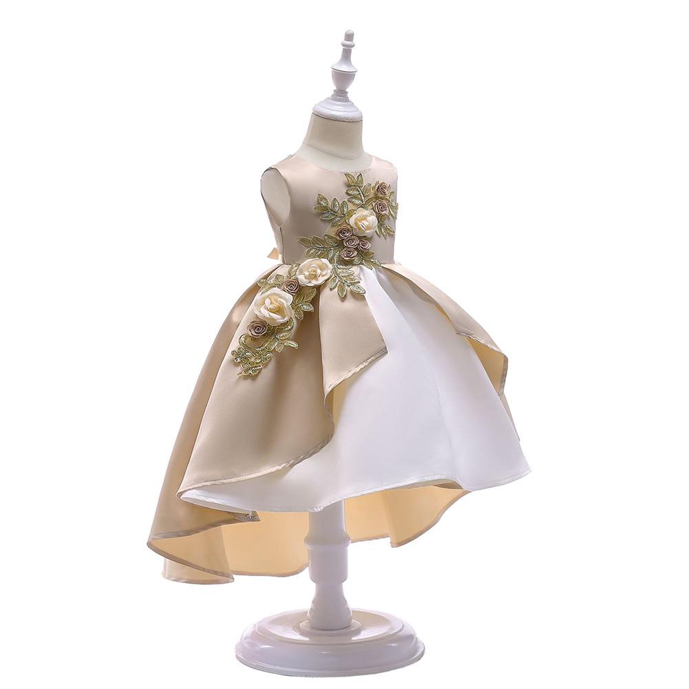 Children Girl Embroidery Princess Dress