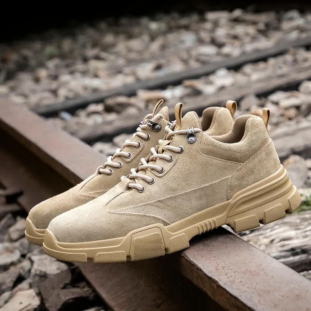 Drop shipping Steel Toe Work Safety Shoes Men Women Antistatic 6KV Electrowelding Construction Plus