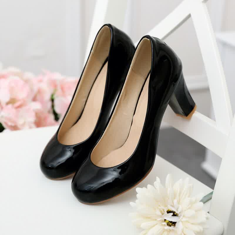 Fashion Red White Nude Heels Classic High Heel Women Pumps Shoe Large