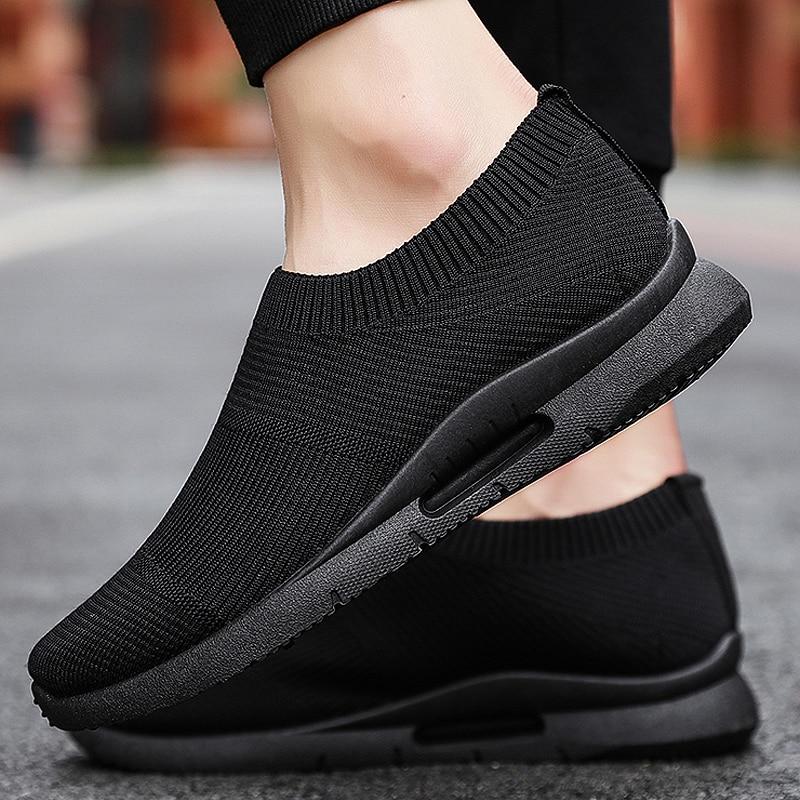 Men Vulcanize Shoes Mesh Casual Shoes Set Foot Mens Shoes