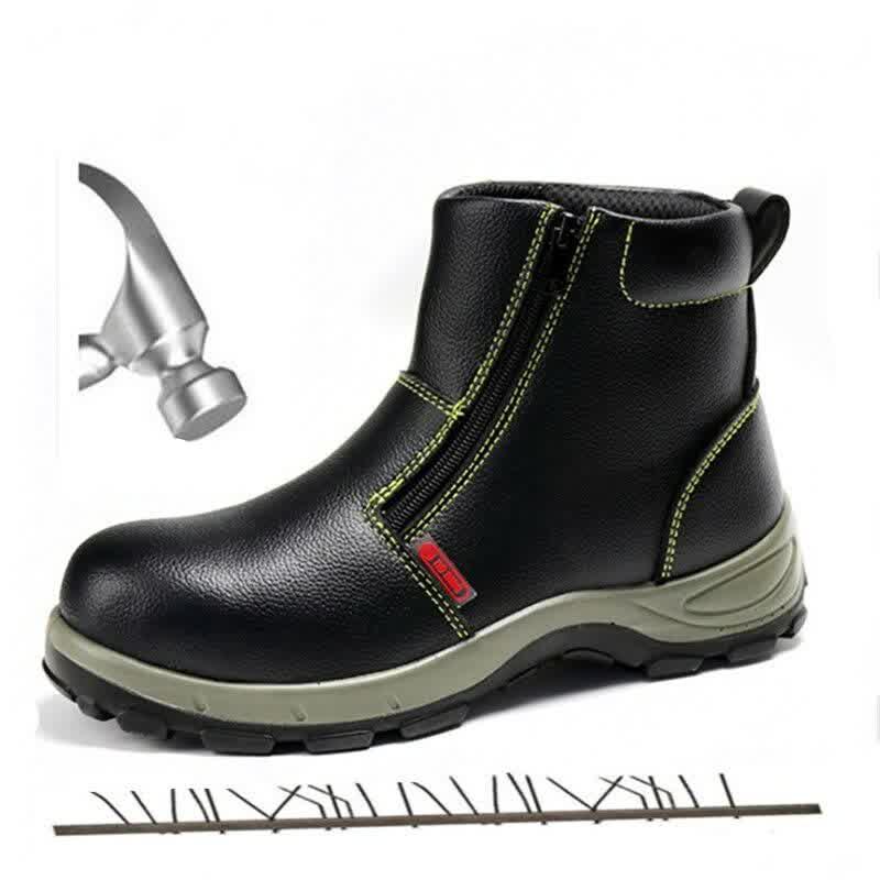 High Waterproof Non-slip Steel Toe Warm Work Safety Shoes