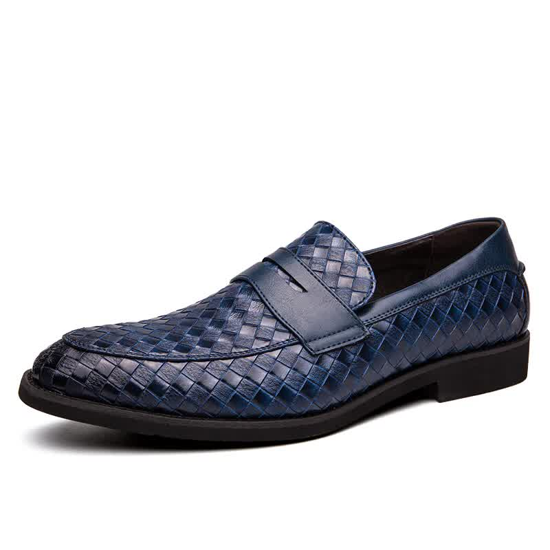 Men Oxfords Genuine Leather Men's Casual Shoes Luxury Brand Mens Loafers Moccasins Business Formal Dress Shoes Plus