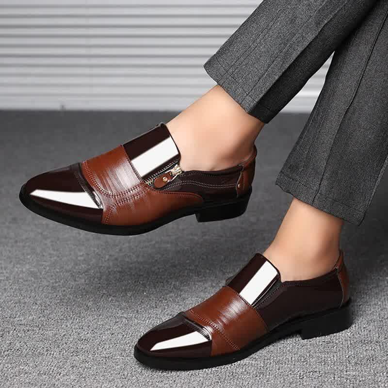 Men's Dress Shoes Fashion Elegant Formal  Wedding Shoes Men Slip Office Shoes