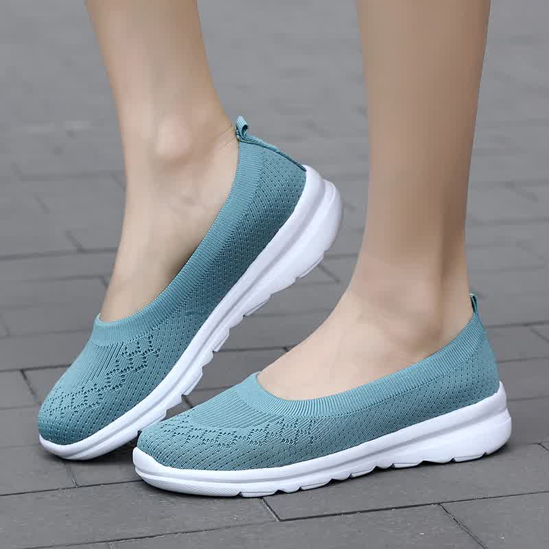 Women Sneakers Fashion Socks Shoes Casual White Sneakers Summer knitted Vulcanized Shoes