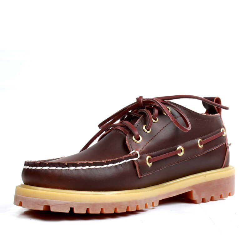 GenuineLeather Mens Casual Shoes Deck Moccain Loaf...