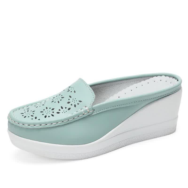 Summer Woman Shoes Platform Slippers Wedge Flip Flops Women High Heel Slippers