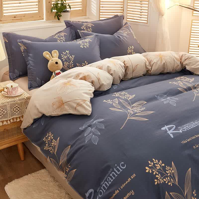 Winter bedding set 3/4 piece 100% cotton bedding set Large comforter bedding set King Queen size bedding set luxury home textile