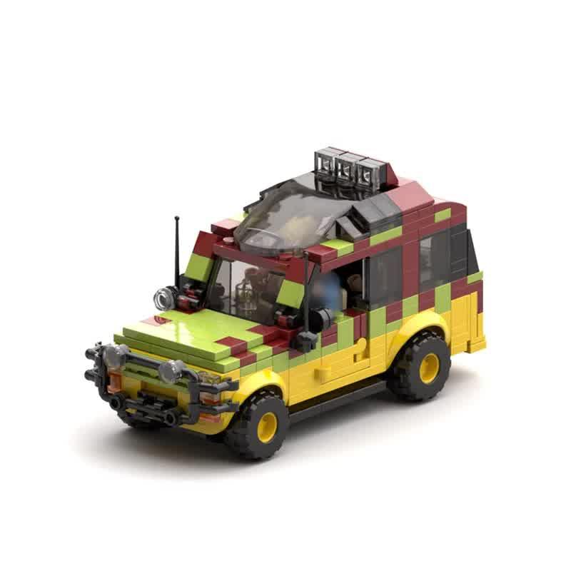 Educational Toy Cars Model Kit Blocks For Kids