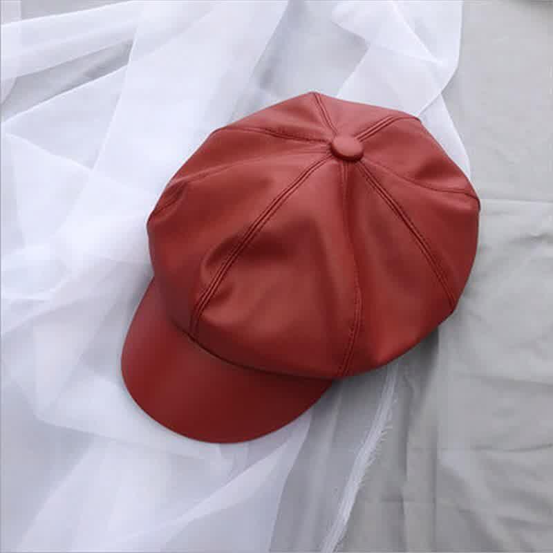 Fashion Women Hat Spring Autumn Sailor Hats Black Ladies Beret Caps Flat Ladies Beret Girls Beanie Hat