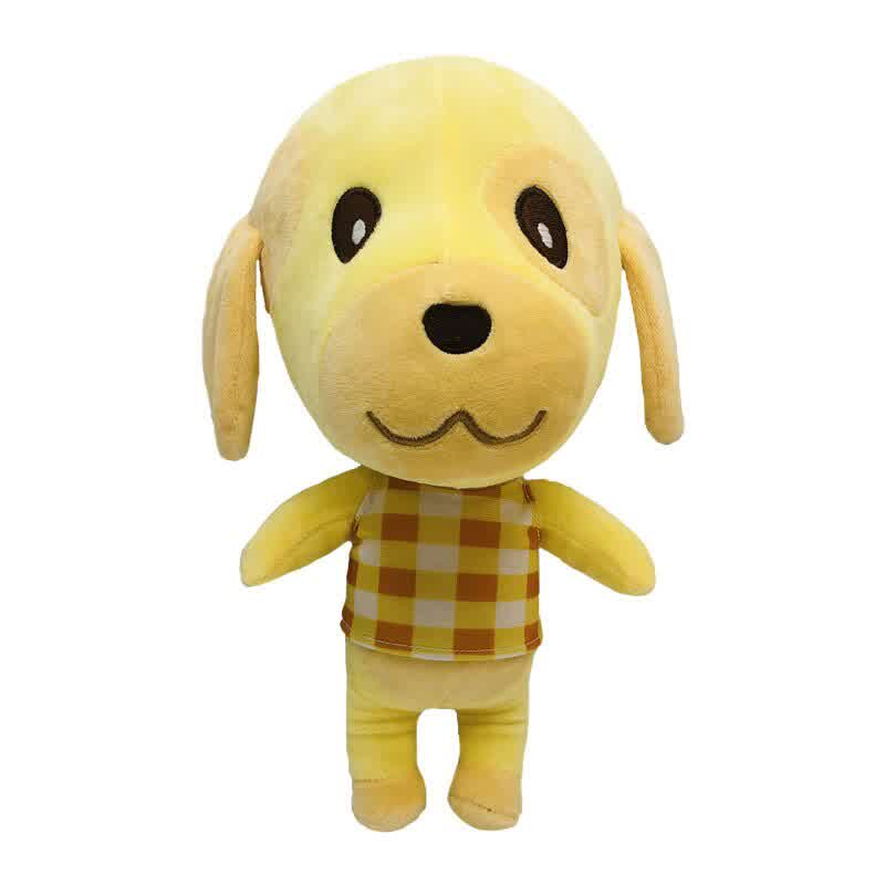 Animal Crossing Dog Plush Doll Soft Stuffed Toys for Children Kids Gifts