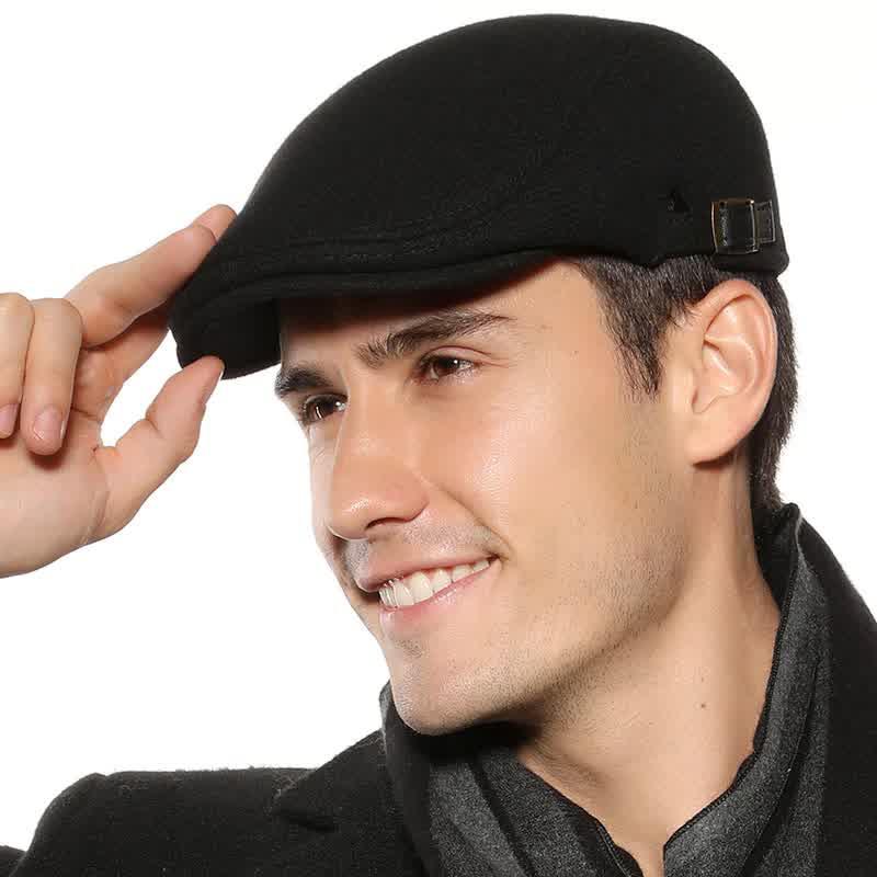 Autumn Winter Men Berets Cap Fashion Flat Caps For Men Hat Classic Vintage