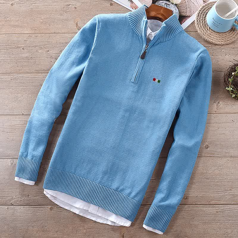 100% Cotton High Quality M-3XL Embroidery-Logo Lon...
