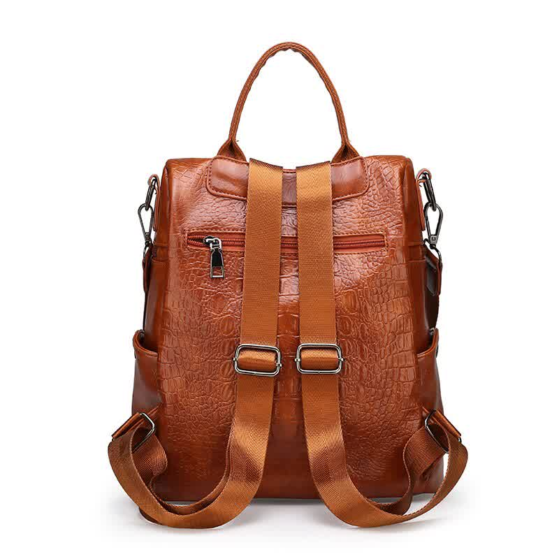 Backpack for women luxury leather backpacks high quality ladies shoulder bags