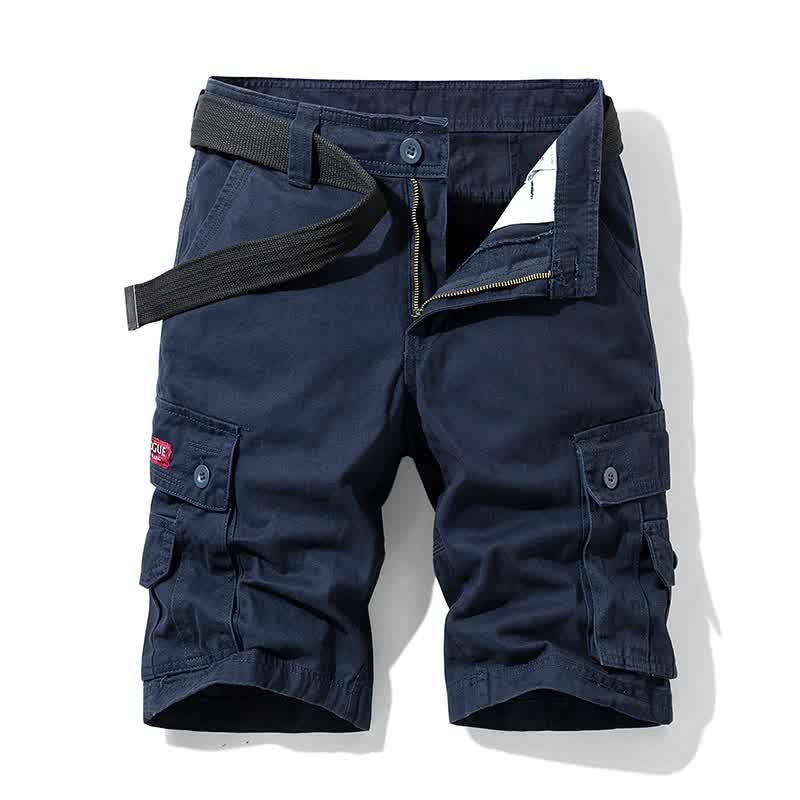 New Men Cargo Shorts 100% Cotton 6 Pockets Shorts for Men Big Pockets Good Quality Cargo Shorts Breathable Soft Good Fabric Hot.