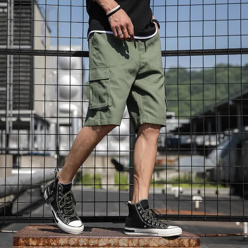 Casual Men Shorts Summer Fashion Cargo Mens Shorts Work Shorts Men's Sport Short Pants High Quality Male Shorts