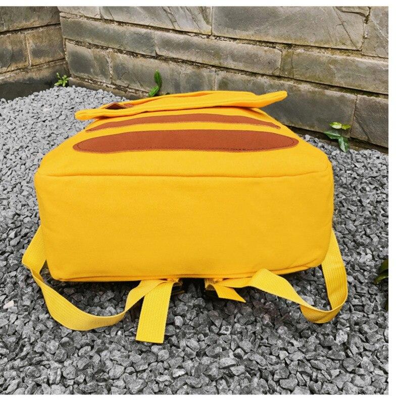 Cartoon Canvas Student Bag Female Version  Soft Sister Cute Backpack Travel Backpack